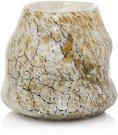 Vaza stiklinė marmurinė AM286 h 20cm SAVEX