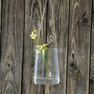 Vazelė stiklinė (6) YQO5111-2 9x12 cm SAVEX