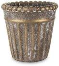 Vazonas betoninis auksinės sp. 12,5x13x13 cm 134976