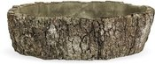 Vazonėlis betoninis medžio imitacija 7x24x24 cm 119666 ddm