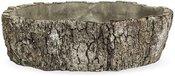Vazonėlis betoninis medžio imitacija 9x27x29 cm 119667