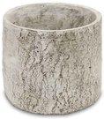 Vazonėlis betoninis pilkos spalvos 16x18x18 cm 108602 ddm