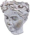 Vazonėlis - skulpūra sieninė Merginos veidas 19 x 17 x 13 cm 131018587
