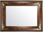 Veidrodis su mediniu dekoruotu rėmu HP8599-S904 60x90