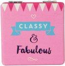 """Veidrodukas kvadratinis """"Classy & Fabulous"""" 7x7 cm SP1216"""