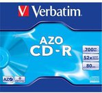 Verbatim CD-R 80/700MB 52X crystal/AZO jewel box - 43327