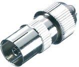 Vivanco насадка для антенного кабеля, железная (43012)