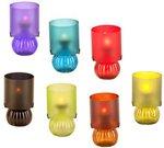 Žvakidė arbatinei žvakutei Lempa D 10 cm H 26 cm 871125254720 (8 spalvų)