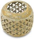 Žvakidė metalinė ažūrinė 8x9,5x9,5 cm 115945