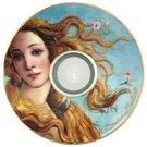 Žvakidė porcelianinė D 15 cm 66-900-55-6 Botticelli Veneros gimimas Goebel