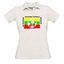 Поло Женская футболка с вашей фотографии, заметки, белый