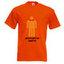 Men's T-shirt, orange