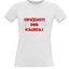 Женские футболки с вашим выбором фотографии, заметки, белый