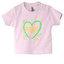Детские футболки с вашими фотографиями, заметки, розовый