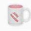 Dviejų spalvų puodelis. Rožinis vidus (300 ml)