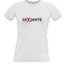 Moteriški marškinėliai su Jūsų nuotrauka, užrašu, balti
