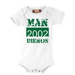 """Kūdikių """"body"""" marškinėliai su Jūsų nuotrauka, užrašu, balti"""