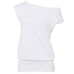 Moteriška tunika su Jūsų nuotrauka, užrašu, balta
