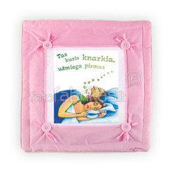 Pillow (pink,35 x35cm.)