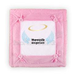 Подушка (35х35мс, розовая)