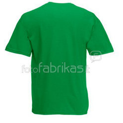 Kids T-shirt with your photo, the words, green