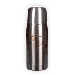 Nerūdijančio plieno termosas. Sidabrinis (250 ml)