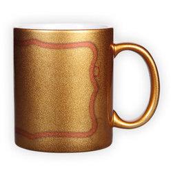 Golden mug (300 ml)