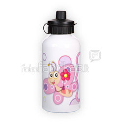Sport bottle with photo. White (500 ml)