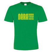 Vyriški marškinėliai su Jūsų nuotrauka, užrašu, žali