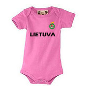 Baby T-shirt with your photos, notes, pink
