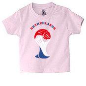 Kūdikių marškinėliai su Jūsų nuotrauka, užrašu, rausvi