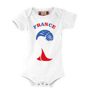 """""""Body"""" T-shirt for your baby with photos, notes, white"""