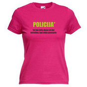 Женские футболки с вашим выбором фотографии, заметки, розовая