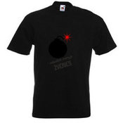 Men T-hirts with your photo, notes, black