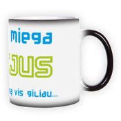 Magic mug. Black (300 ml)