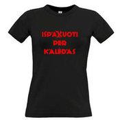Женские футболки с вашим выбором фотографии, заметки, черный