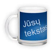 Frosted glass mug (300 ml)