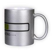 Sidabrinis puodelis (300 ml)