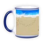 Magic mug. Blue (300 ml)
