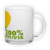 Matinio stiklo puodelis (300 ml)