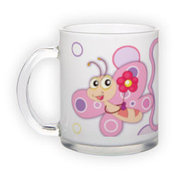 Frosted glass mug (300 ml)