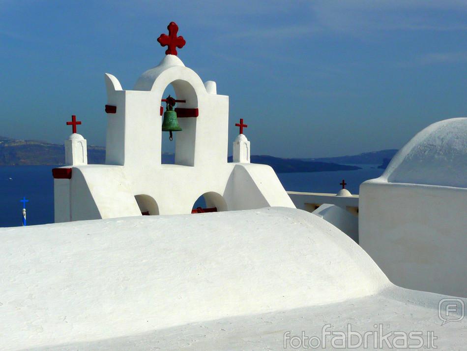 Santorinio sterilumas