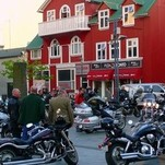 Reikjaviko baikerių suvažiavimas :)