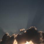 Saule vakarop