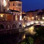 Vakaras Liublianoje
