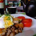 Kiaušinienė su lašiša